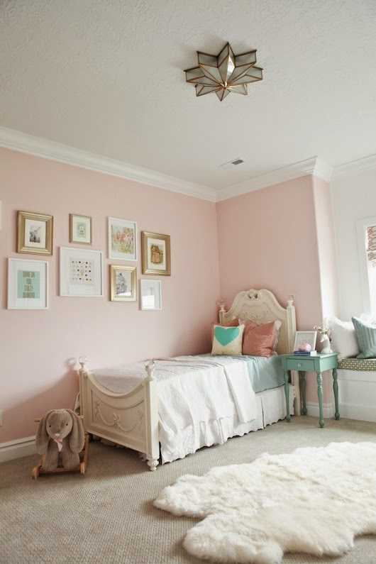 Pink And Gold Nursery Reveal 6th Street Design School