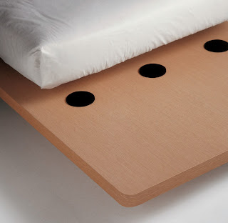 grooving beds, Image