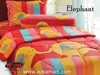 Sprei My Love Elephant