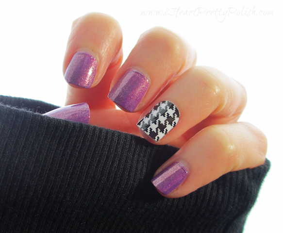 Zoya Dannii Jamberry Nails Houndstooth