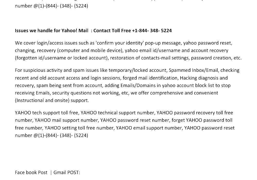 yahoo email security support