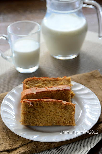 banana cake no food additive