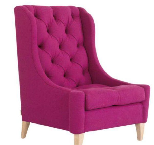 "Naomi Chair ""Gorgeous on the inside"""