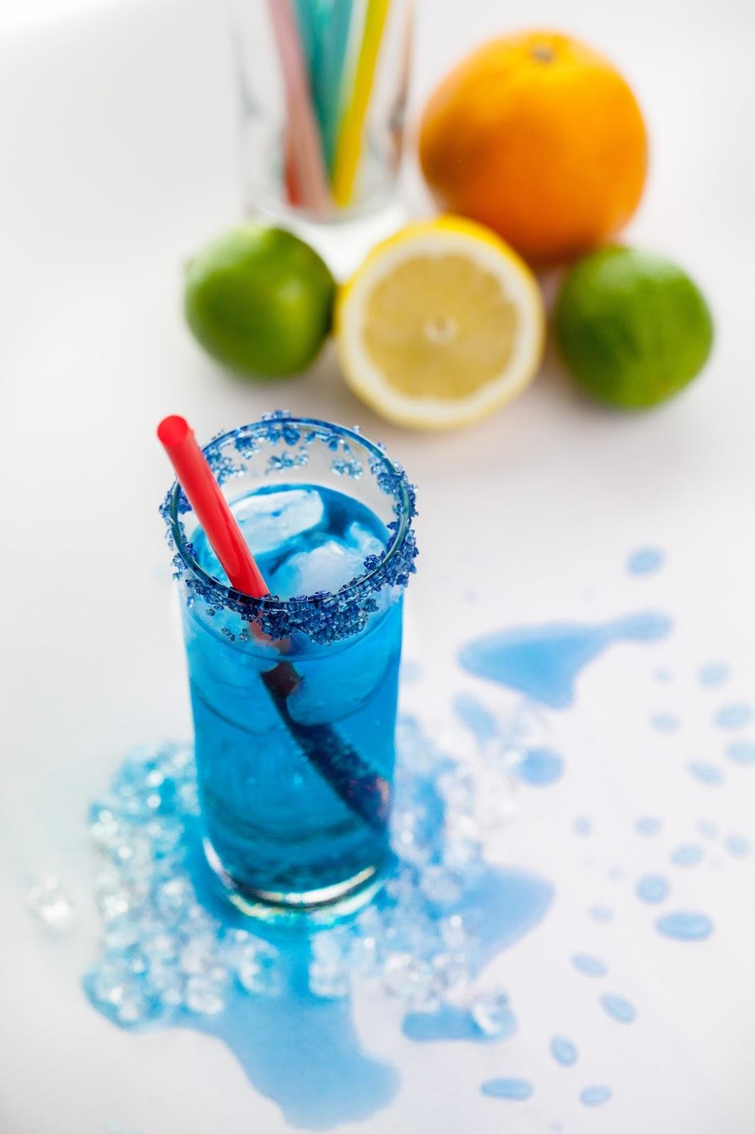 Błękit nieba - drink.