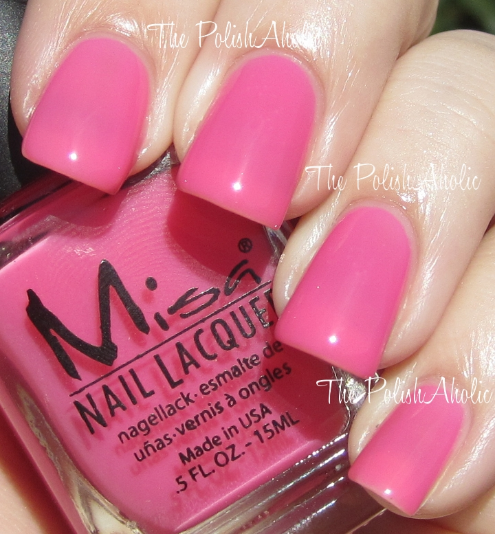 The PolishAholic: Misa Spring 2012 Precious Moments Collection Swatches