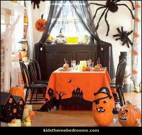 Decorating theme bedrooms maries manor halloween for Decoration halloween