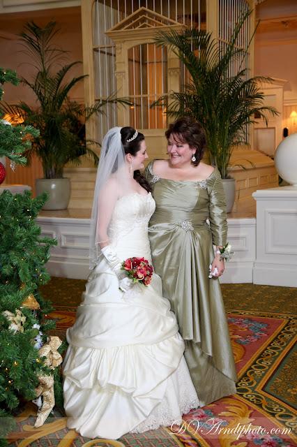 The Disney Wedding Blog Christmas Walt Disney World Wedding Leslie Zach