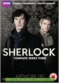 Sherlock 1ª, 2ª, 3ª Temporada Legendado Torrent (2010)