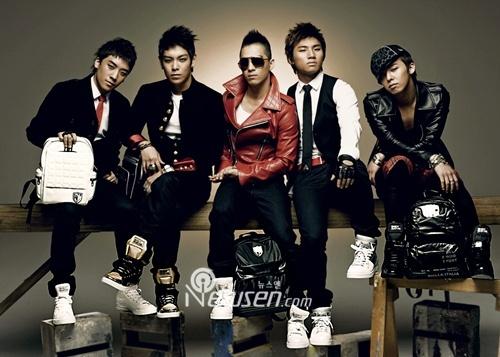 Big Bang Kpop Members