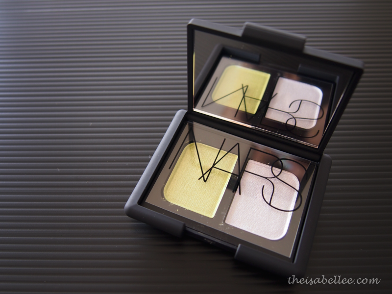 Packaging of NARS Tropical Princess Duo Eyeshadow