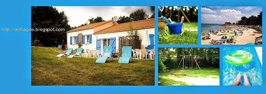 GITES DU PARC***  Vendée  France gîtes / locations = holiday cottages Piscine = Pool Sea = Mer 15km