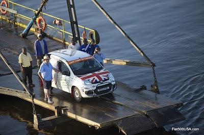 Fiat Panda Cape Town to London Run