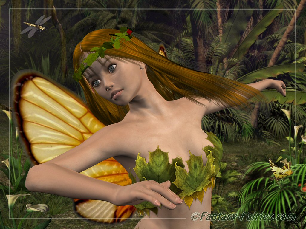 3d animation fairy and dragon 2