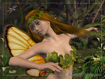 Dancing Fairy Desktop Wallpaper