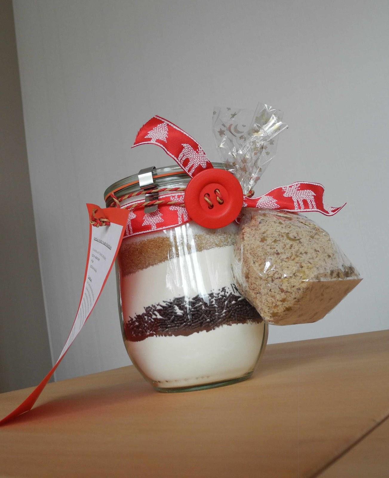 Kerstins bunte welt kuchen im glas ein geschenk aus der for Geschenke für die küche