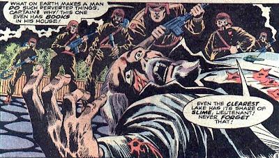 Atlas Comics, Morlock 2001 #1, dead scientist