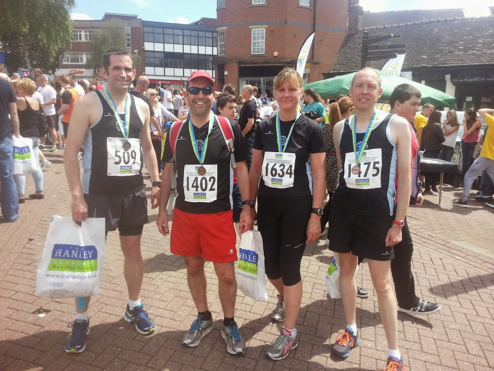 North Staffs Road Running Association (NSRRA ) - Home Potters arf marathon photos