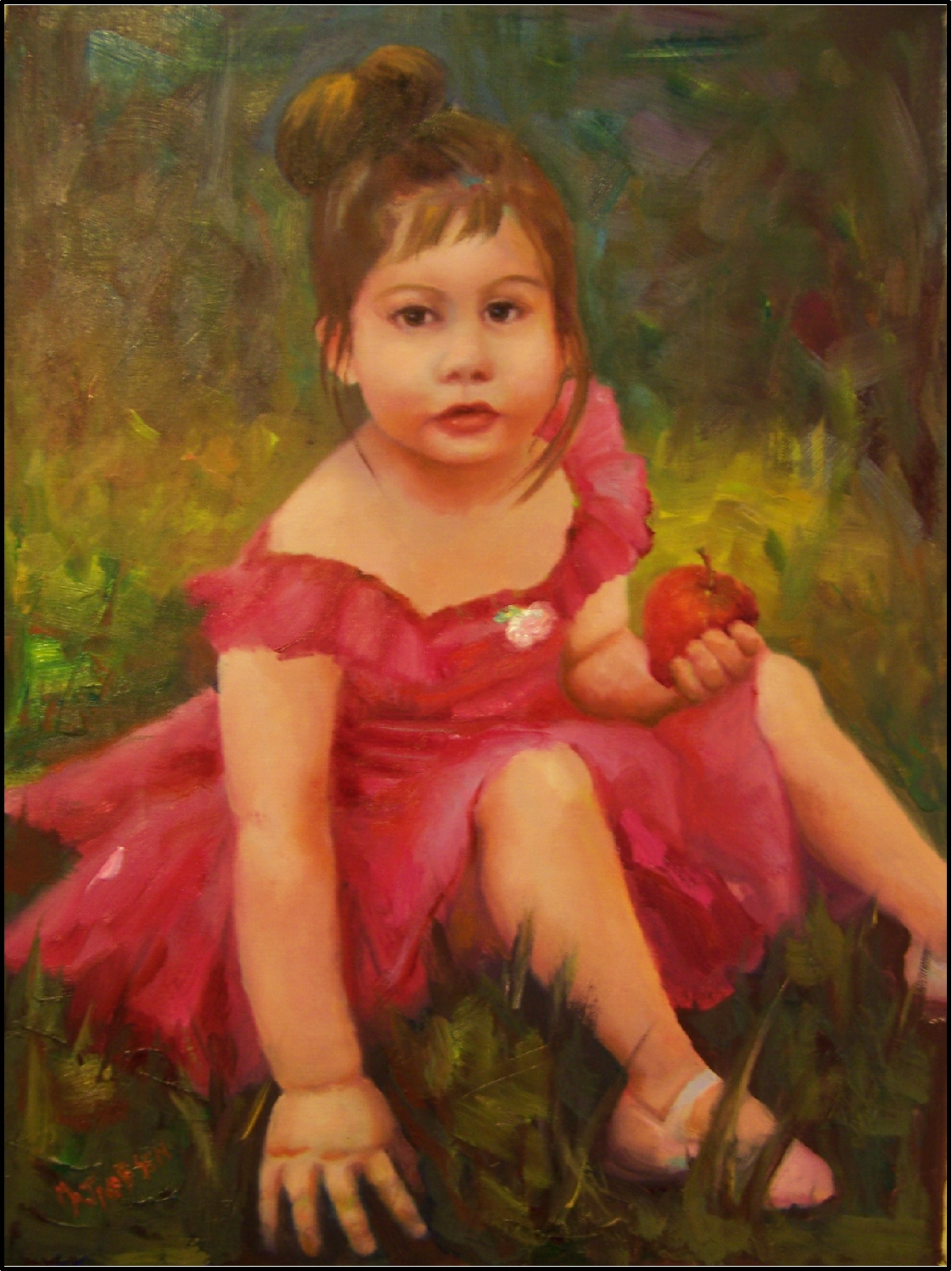 the gallery for gt paintings of heaven by little girl