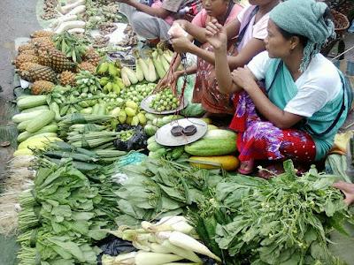 Market in Haflong