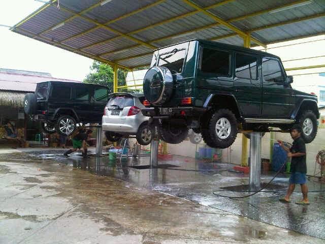 Usaha Sampingan Cuci Mobil