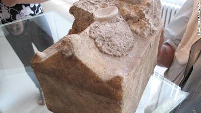 huesos de juan el bautista