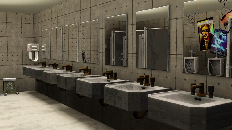 . My Sims 3 Blog  Public Restroom Mirrors by MacTheKat