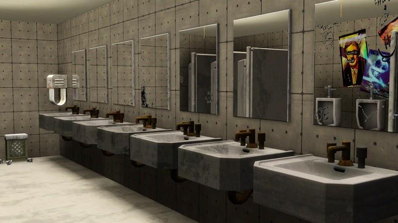 Public Bathroom Mirror my sims 3 blog: public restroom mirrorsmacthekat
