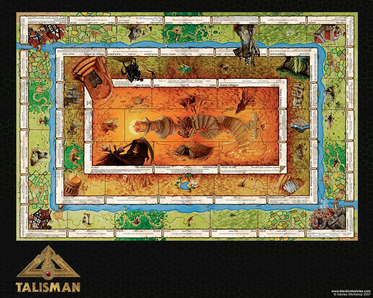 D20 musings talisman 4th edition - Talisman gioco da tavolo ...