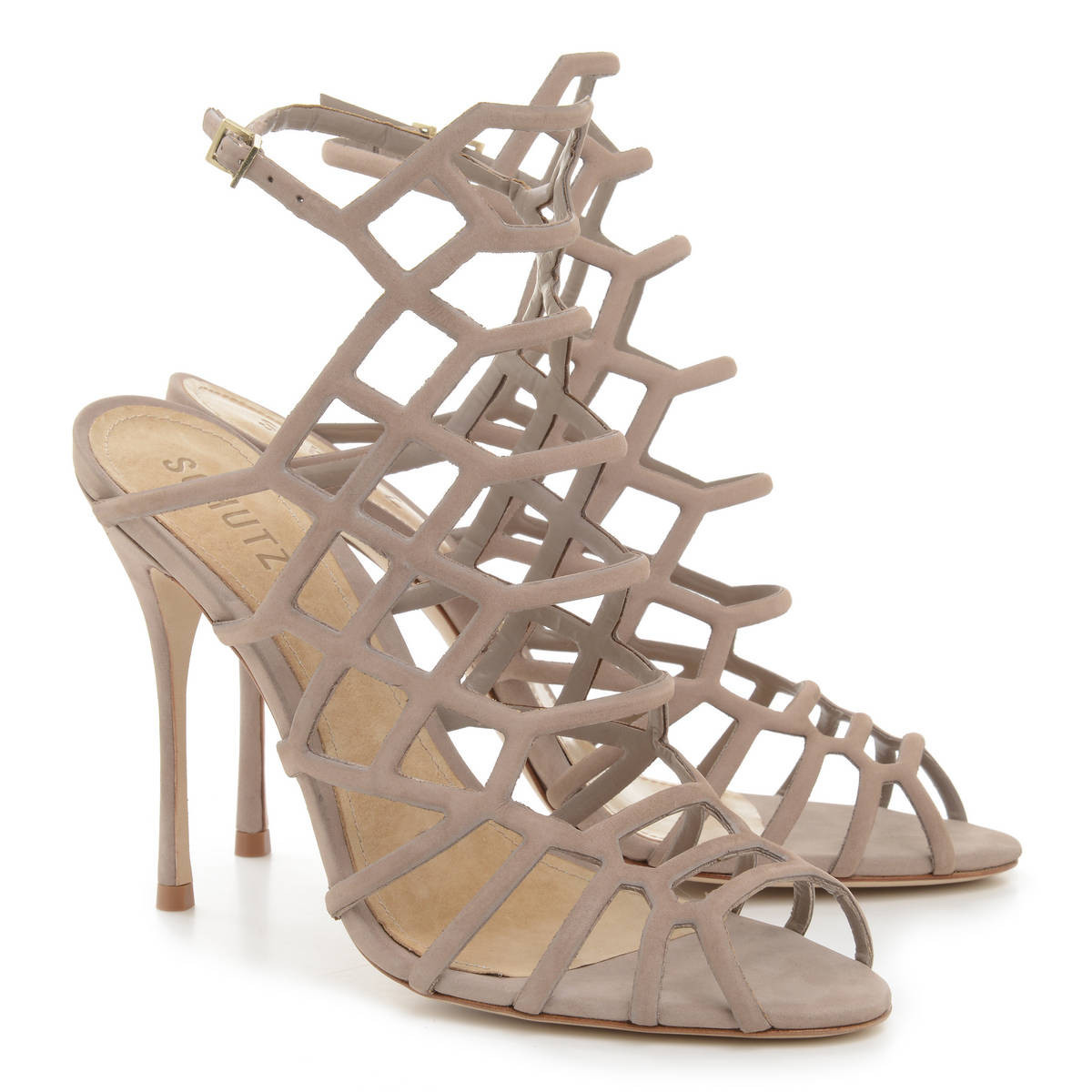 Sandals vs shoes - Real Vs Steal Schutz Juliana Caged Sandals