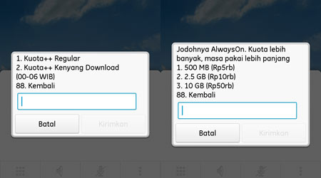 Cara Registrasi Paket Kenyang Download Kartu Tri