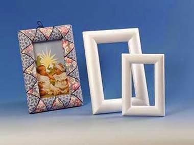 como fazer porta retrato com patchwork no isopor