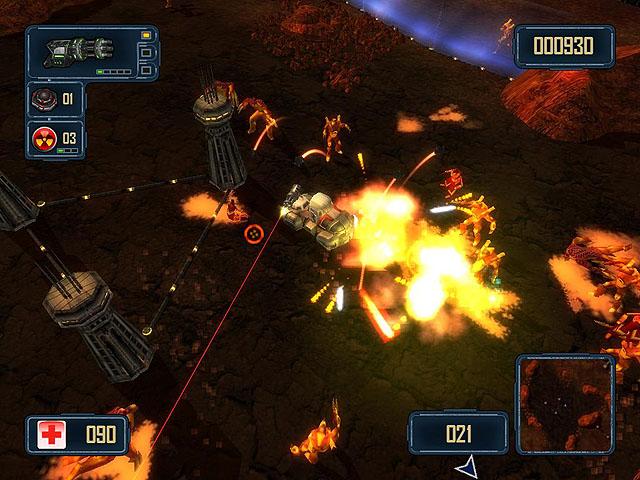 لعبة حرب الفضائيين Alien Strike