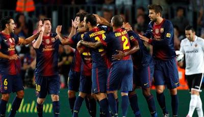 Prediksi Skor Pertandingan Barcelona vs Celta Vigo, 4 Nov 2012