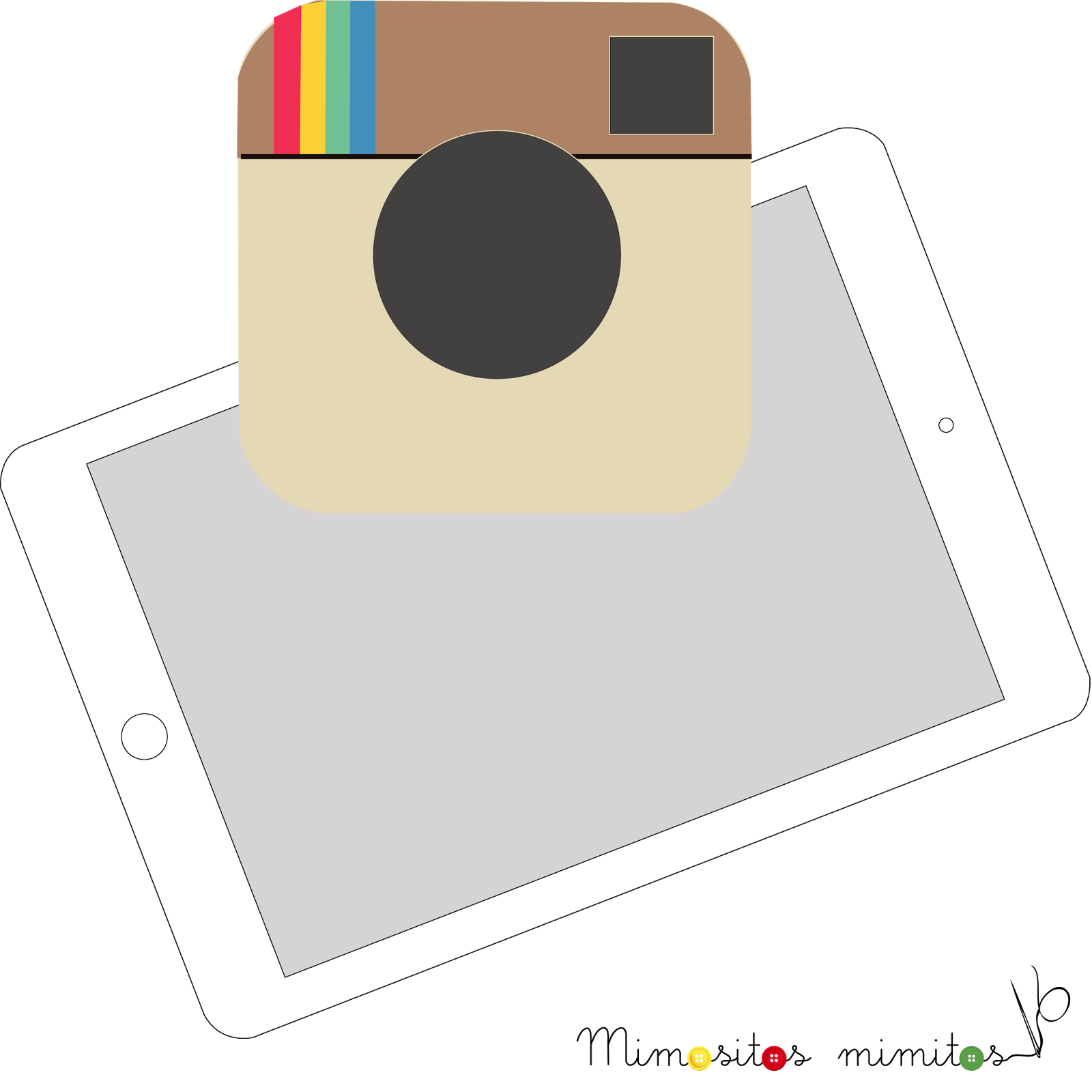 freebies hipster gratis infografia instagram ipad iphone postureo