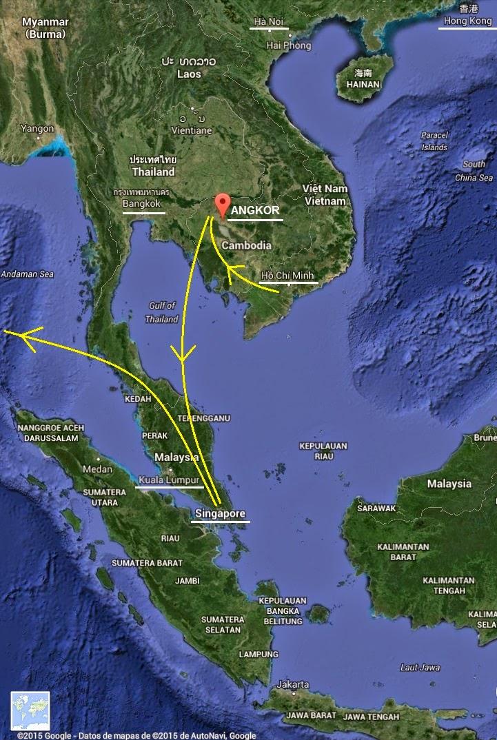 Sudeste Asiatico Mapa Sudeste Asi Tico Fuente