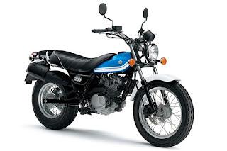 Suzuki VanVan 200 (2016) Front Side