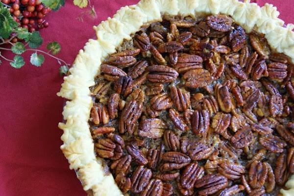 Alice and the Mock Turtle: Honey Crunch Pecan Pie