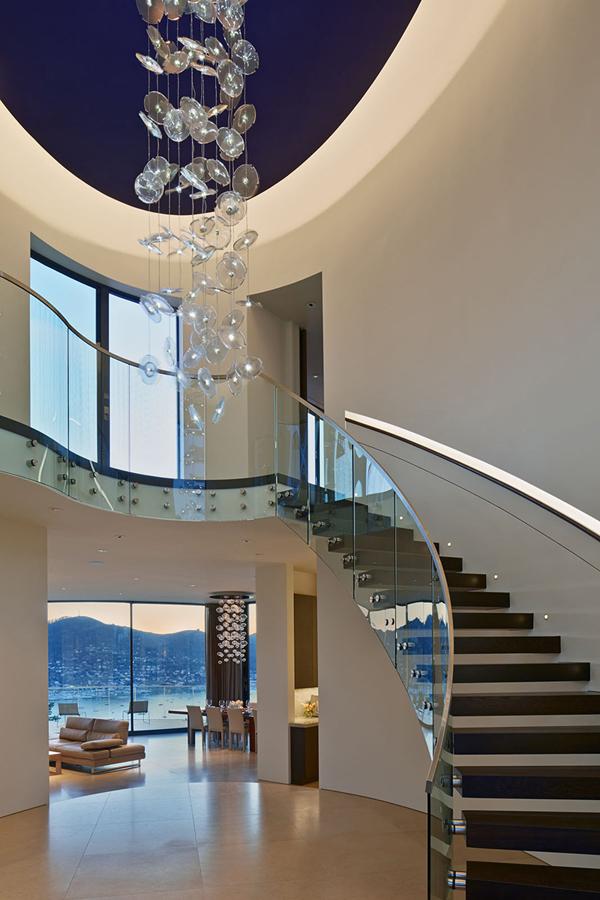 Casas minimalistas y modernas escaleras contemporaneas for Casa minimalista pinterest