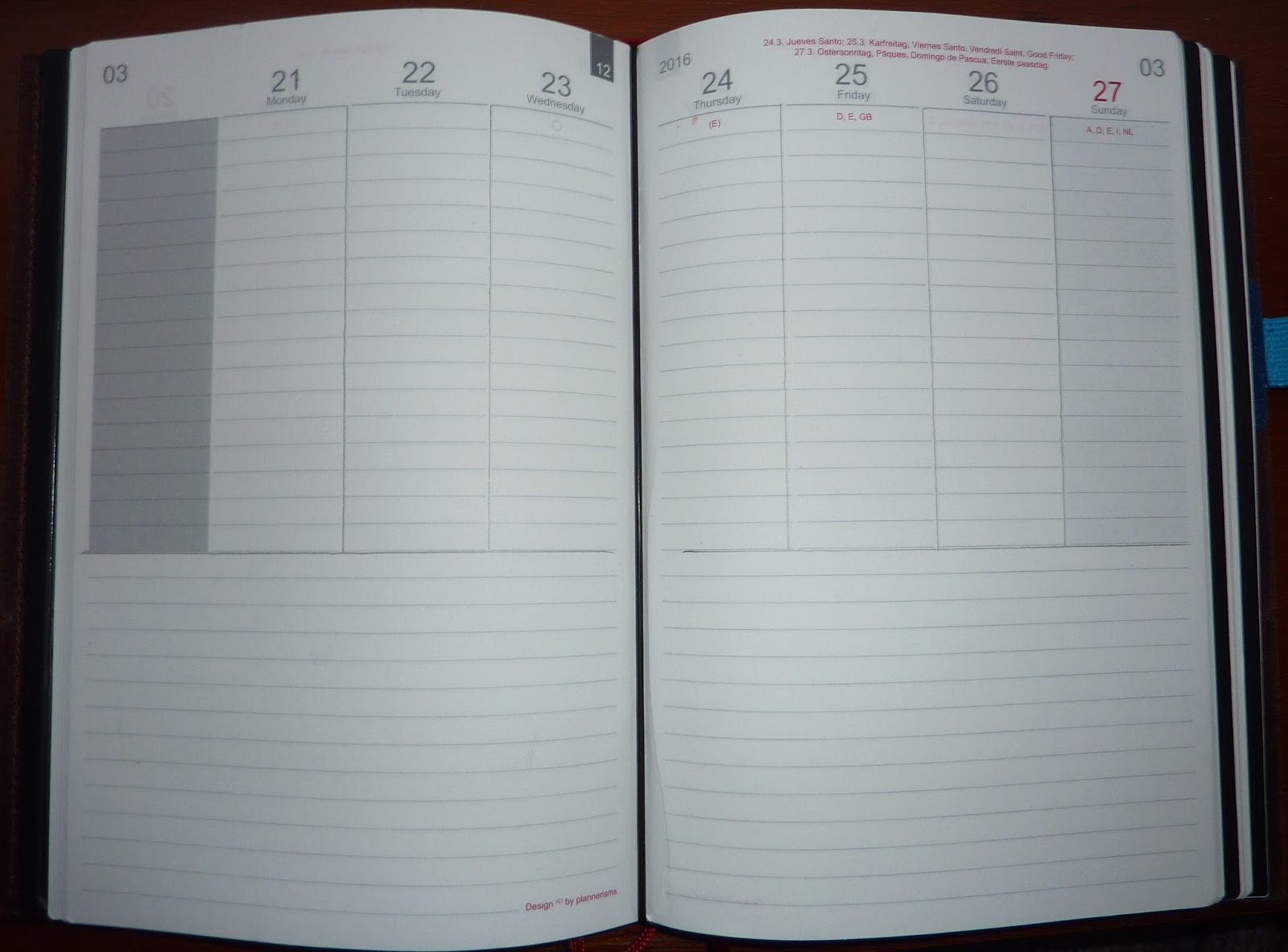 plannerisms how to use the weekly pages in your