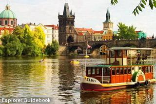 elbis boat prague vltava cruise