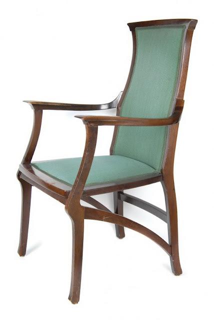 Henrijs van de Velde jugendstila krēsls