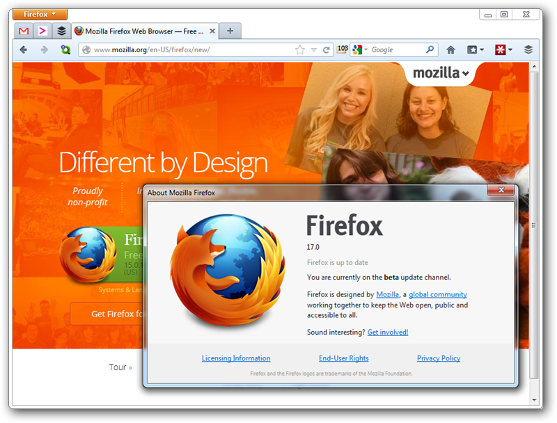 Dane brojim download firefox