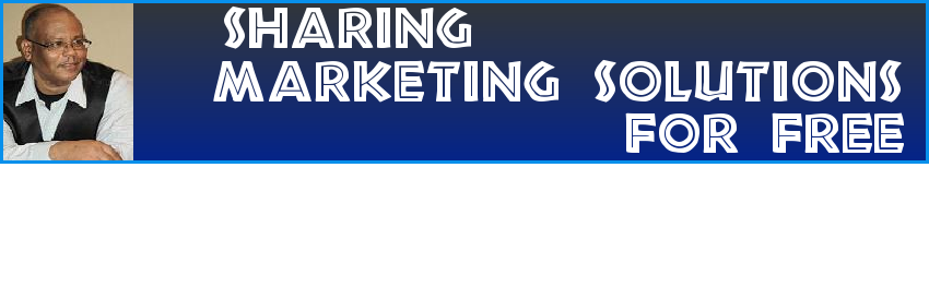 Sharing Marketing Solutions For Free