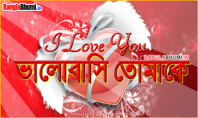Bangla Love Wallpaper - Valobasi Tomake Photo