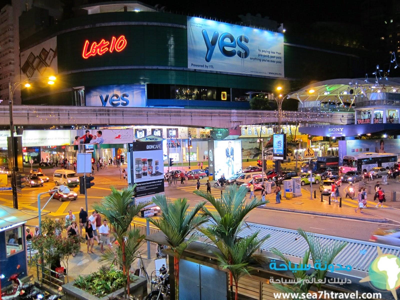 سوق بوكيت بينتانج السياحى