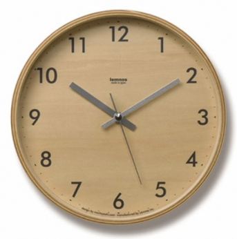 round plywood wall clock