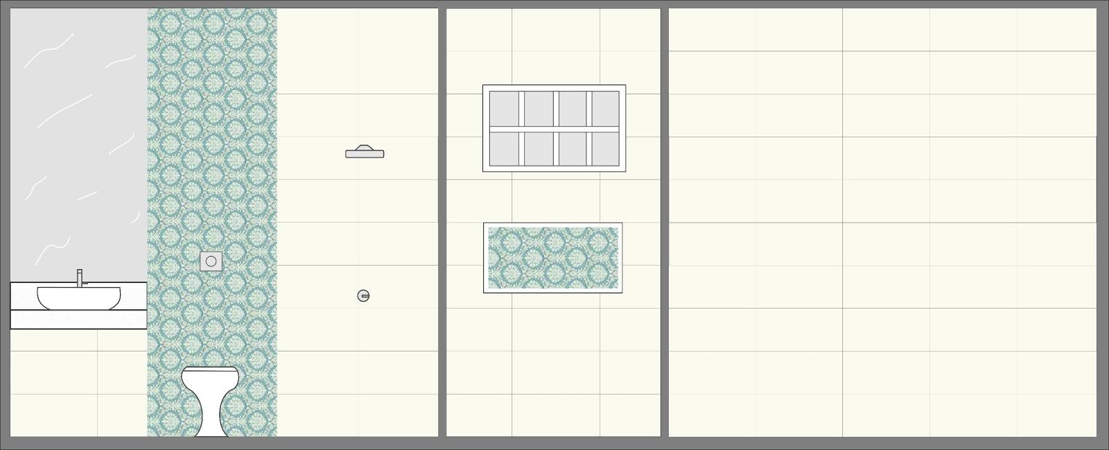 A casa da Mi Banheiro Social -> Nicho Para Banheiro Altura