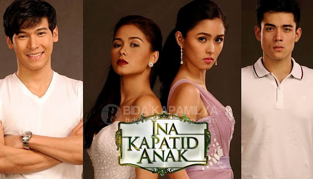 Ina Kaptid Anak  Cast (Enchong Dee, Maja Salvador, Kim Chiu and Xian Lim)