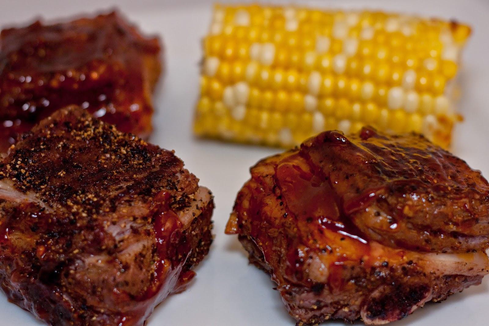 Grilled Bison Short Ribs