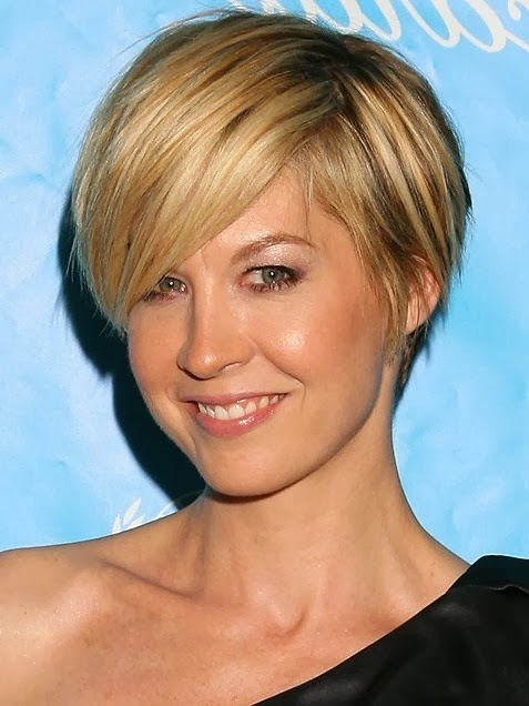 jenna elfman short hair 2012